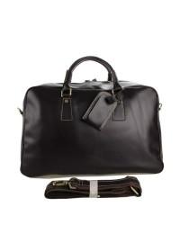 Восхитительная дорожная кожаная сумка 77156С