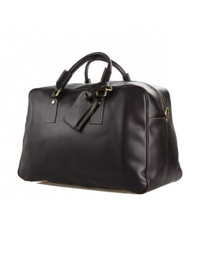 Фотография Восхитительная дорожная кожаная сумка 77156С