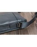 Фотография Чёрная сумка из натуральной кожи на плечо 71577-3A