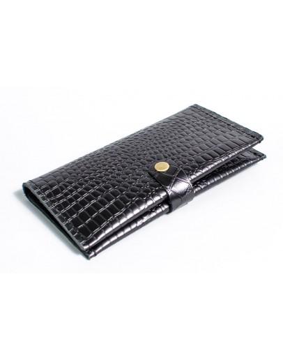 Фотография Мужское черное портмоне с тиснением Man 71610-M