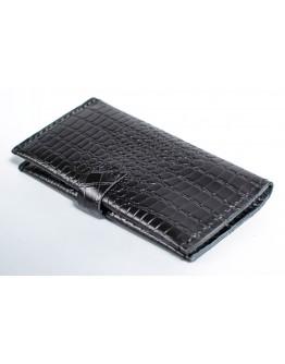 Мужское черное портмоне с тиснением Man 71610-M