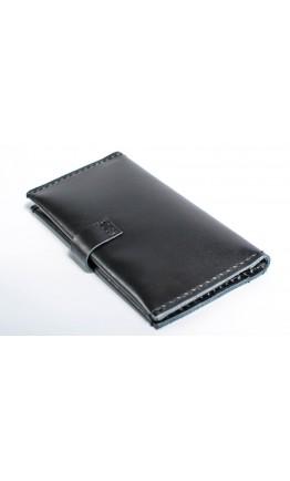 Мужское черное портмоне из гладкой кожи Man 71620-M
