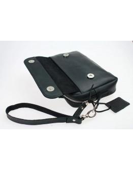 Черный кожаный удобный мужской клатч 71626-SKE