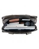 Фотография Вместительная мужская сумка - рюкзак серого цвета 77168J