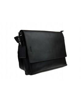 Черная классическая горизонтальная сумка А4 71747-SKE
