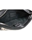 Фотография Черная классическая горизонтальная сумка А4 71747-SKE