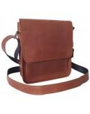 Фотография Рыжая небольшая сумка через плечо 717713-SGE