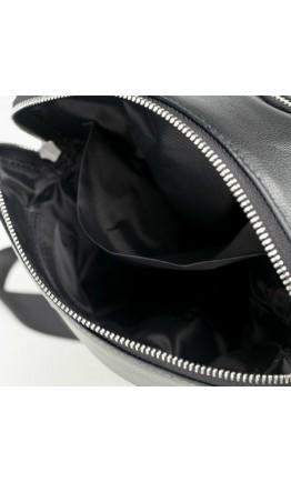 Сумка на плечо мужская черного цвета 71808-1A