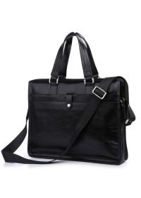 Элегантный и модный мужской кожаный портфель 77181