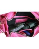 Фотография Маленькая женская кожаная сумка розового цвета 71825W-SKE