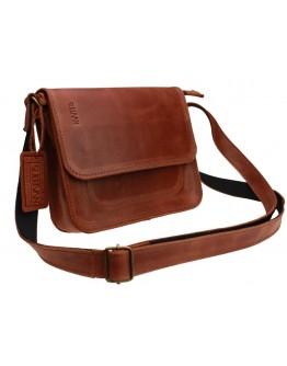 Маленькая женская кожаная сумка светло-коричневого цвета 71925W-SKE