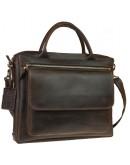 Фотография Коричневая городская мужская сумка для документов A4 71948-SKE