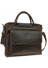Коричневая городская мужская сумка для документов A4 71948-SKE