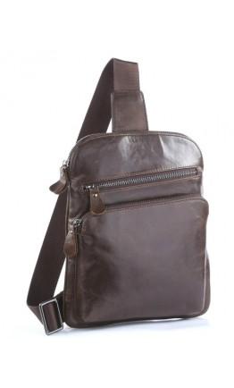 Рюкзак коричневого цвета из телячьей кожи 77195c