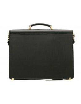 Вместительный портфель на одну защелку Manufatto 71-rvm черный
