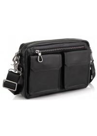 Мужская горизонтальная кожаная сумка на плечо Tiding Bag 720A