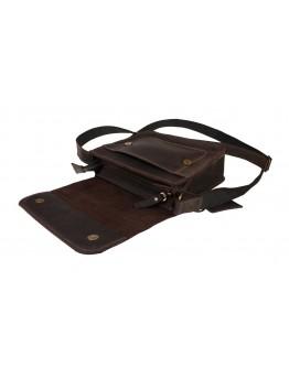 Маленькая женская кожаная сумка коричневого цвета 72125W-SKE