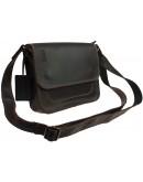Фотография Маленькая женская кожаная сумка коричневого цвета 72125W-SKE