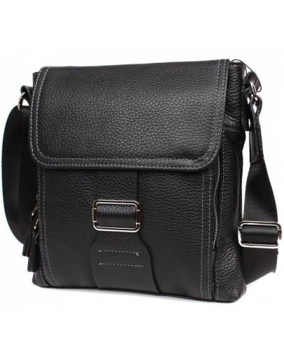 Фотография Удобная сумка из натуральной кожи на плечо 7214