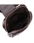 Фотография Модный и современный коричневый кожаный рюкзак 77216