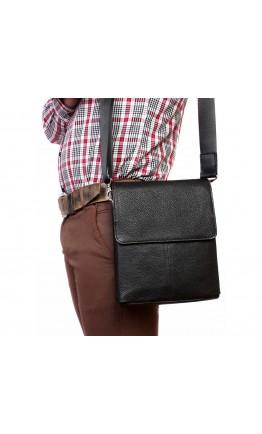Классическая сумка мужская на плечо с клапаном 7217