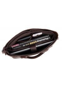Шикарный кожаный портфель, мужская сумка для ноутбука 77220C