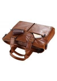 Коричневый портфель исключительного качества 77220B