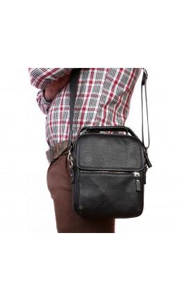 Кожаная повседневная сумка в руку и на плечо 7220