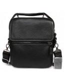 Фотография Кожаная повседневная сумка в руку и на плечо 7220