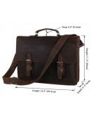 Фотография Шикарнейший портфель из натуральной лошадиной кожи 77223r