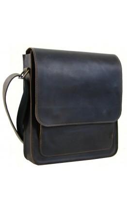 Коричневая вместительная мужская сумка на плечо 72239-SGE