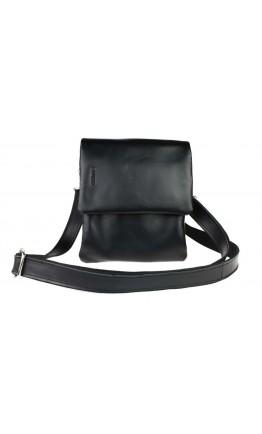 Вертикальная небольшая кожаная сумка на плечо 722500-SKE