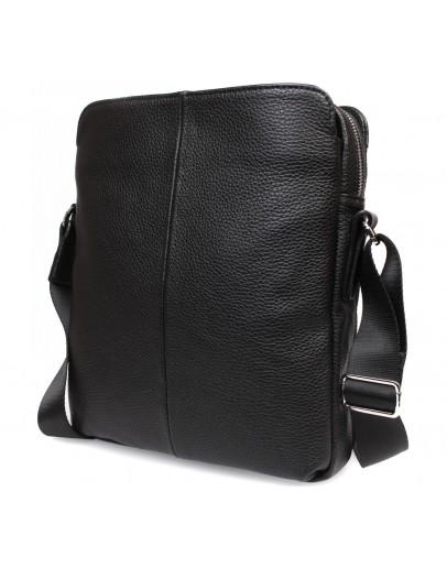 Фотография Вместительная кожаная сумка через плечо без клапана 7226