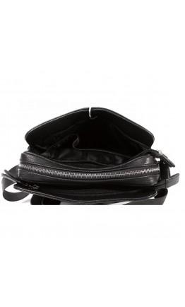 Вместительная кожаная сумка через плечо без клапана 7226