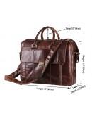 Фотография Качественный кожаный портфель 77227C