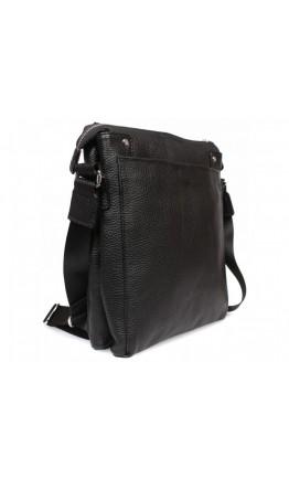 Черная сумка мужская кожаная планшетка 7228kt