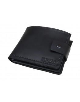 Мужской черный кожаный кошелек 72310-SKE