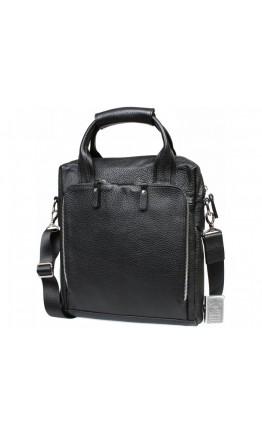 Черная сумка формата A4 вертикальная 7235kt