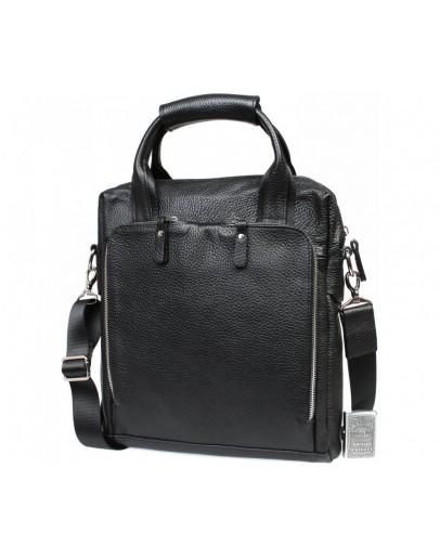 Фотография Черная сумка формата A4 вертикальная 7235kt