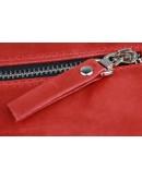 Фотография Женская красная кожаная деловая сумка 7240W-SKE