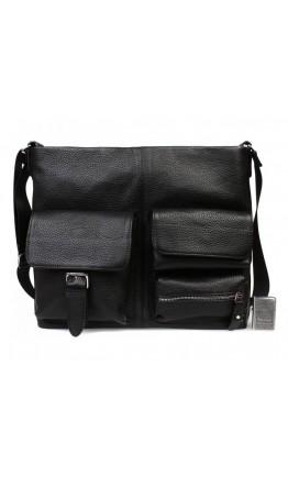 Большая мужская кожаная сумка на плечо 7240kt