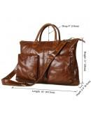 Фотография Стильная и практичная мужская сумка из натуральной кожи 77241B