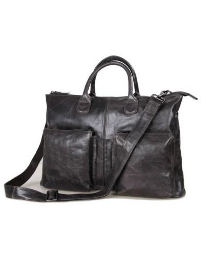 Фотография Модная кожаная мужская сумка 77241J
