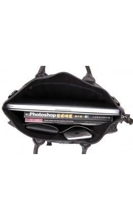Модная кожаная мужская сумка 77241J