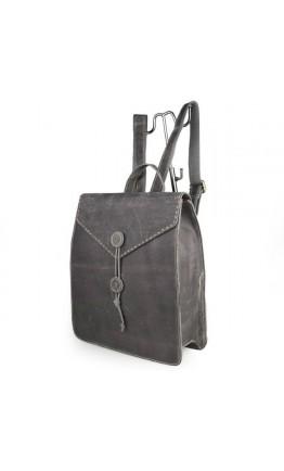 Модный мужской кожаный рюкзак в стиле ретро 77248