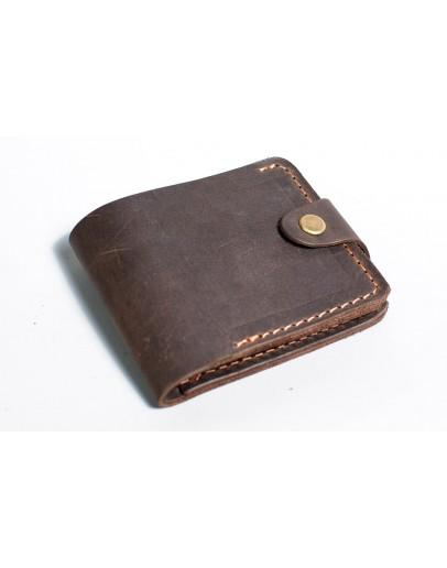 Фотография Мужской коричневый кошелек винтажный Man 72511-M