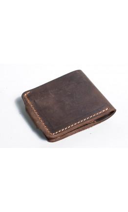 Мужской коричневый кошелек винтажный Man 72511-M