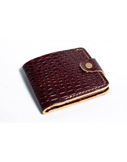 Мужской коричневый кошелек с тиснением Man 72512-M