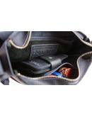 Фотография Синяя женская кожаная небольшая сумка 72523W-SKE