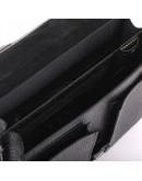 Фотография Портфель рифленый из натуральной кожи Manufatto 725 черный риф